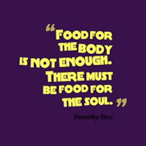 food for body and soul