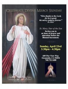 divine mercy flyer 2017